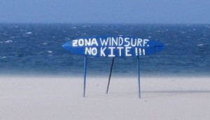 Zona Windsurf - no kite!!!